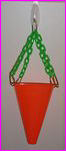 Hanging Foot Toy Basket