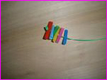 Straw Tip Toy